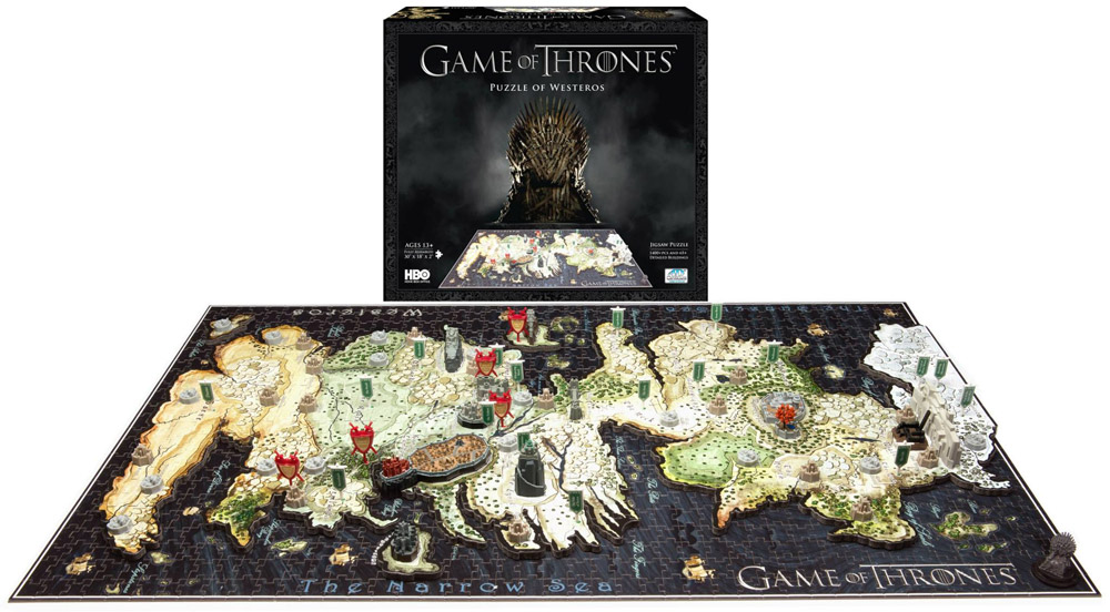 Game Of Thrones 4D puzzle 1