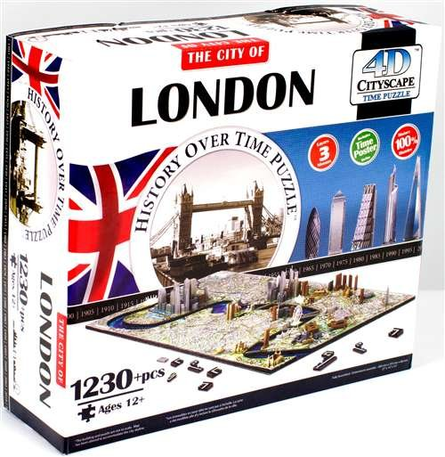 4D puzzle London CityScape