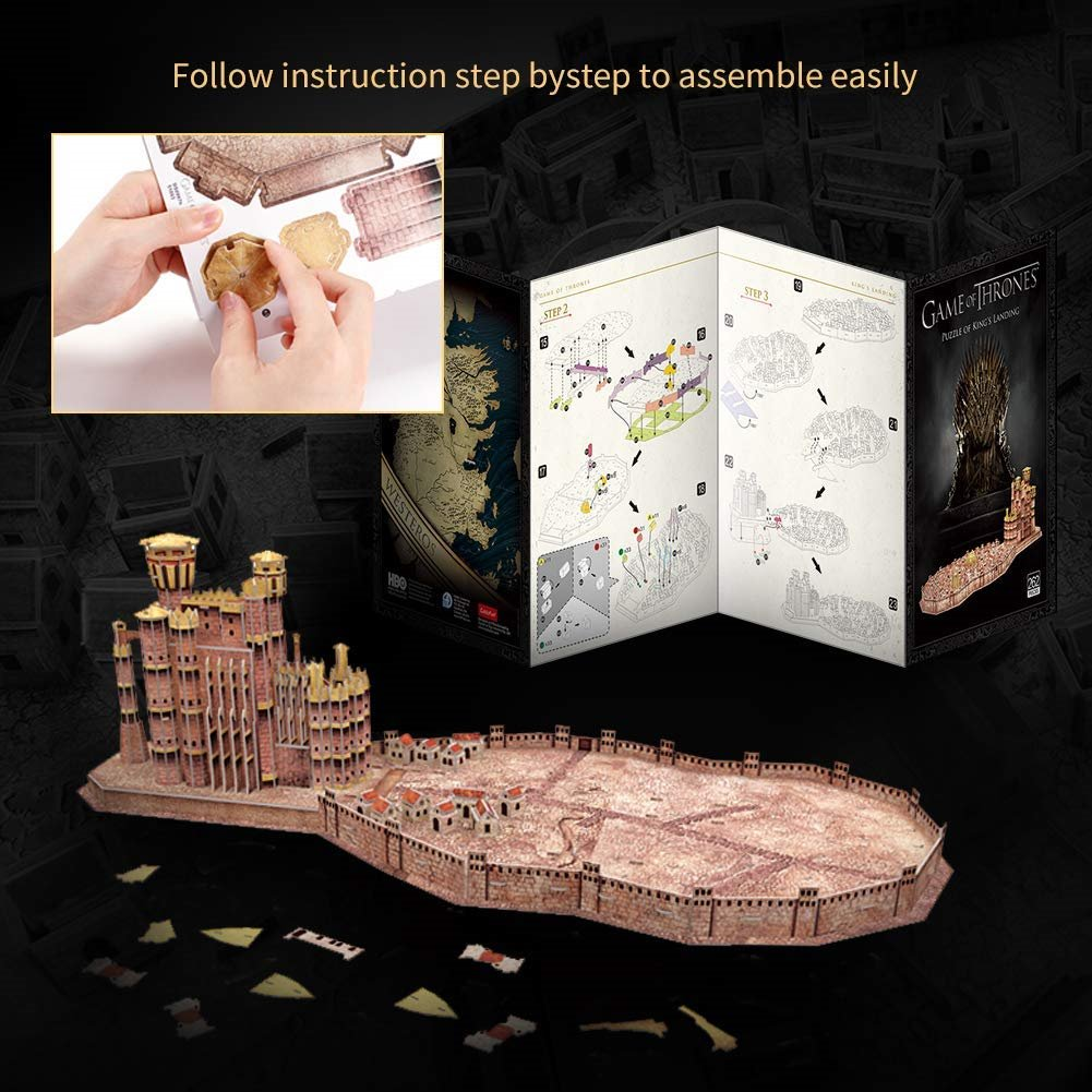 Game of Thrones 3D puzzle King's Landing 262 dielikov_product