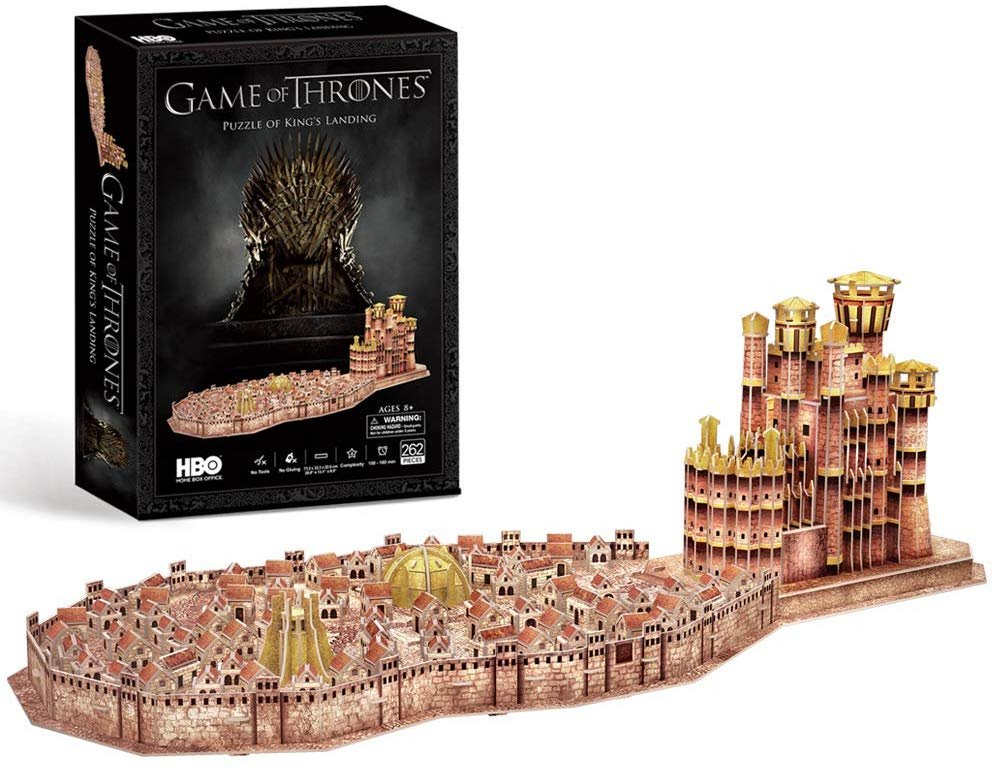 Game of Thrones 3D puzzle King's Landing 262 dielikov