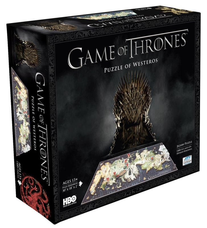 Game Of Thrones - 4D puzzle