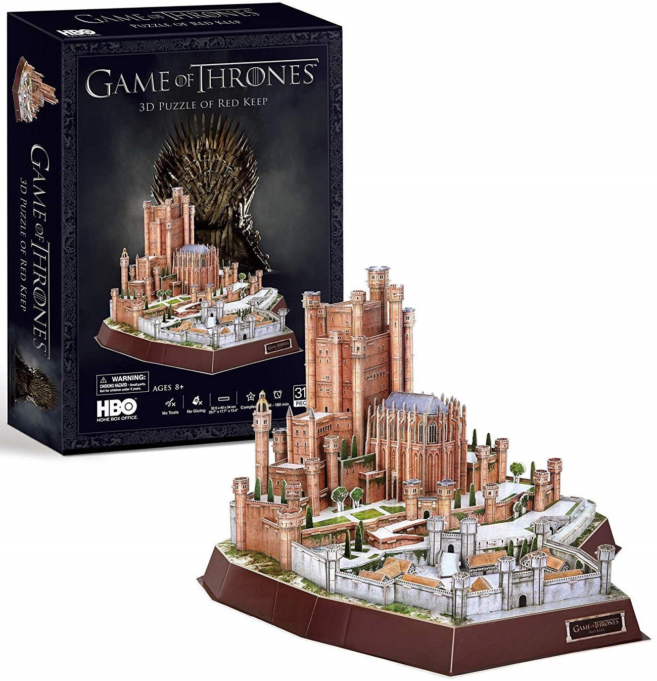 Game of Thrones 3D puzzle Red Keep 314 dielov