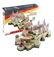 Hrad Hohenzollern - 3D puzzle