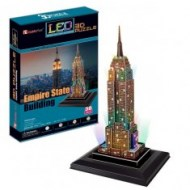Empire State Building - 3D puzzle LED
