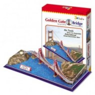 Golden Gate Bridge - 3D puzzle