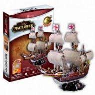 Loď Mayflower - 3D puzzle