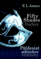 E.L. James - Fifty Shades Darker Päťdesiat odtieňov temnoty
